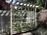 Wooden trellis design