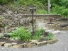 Terraced stone garden beds