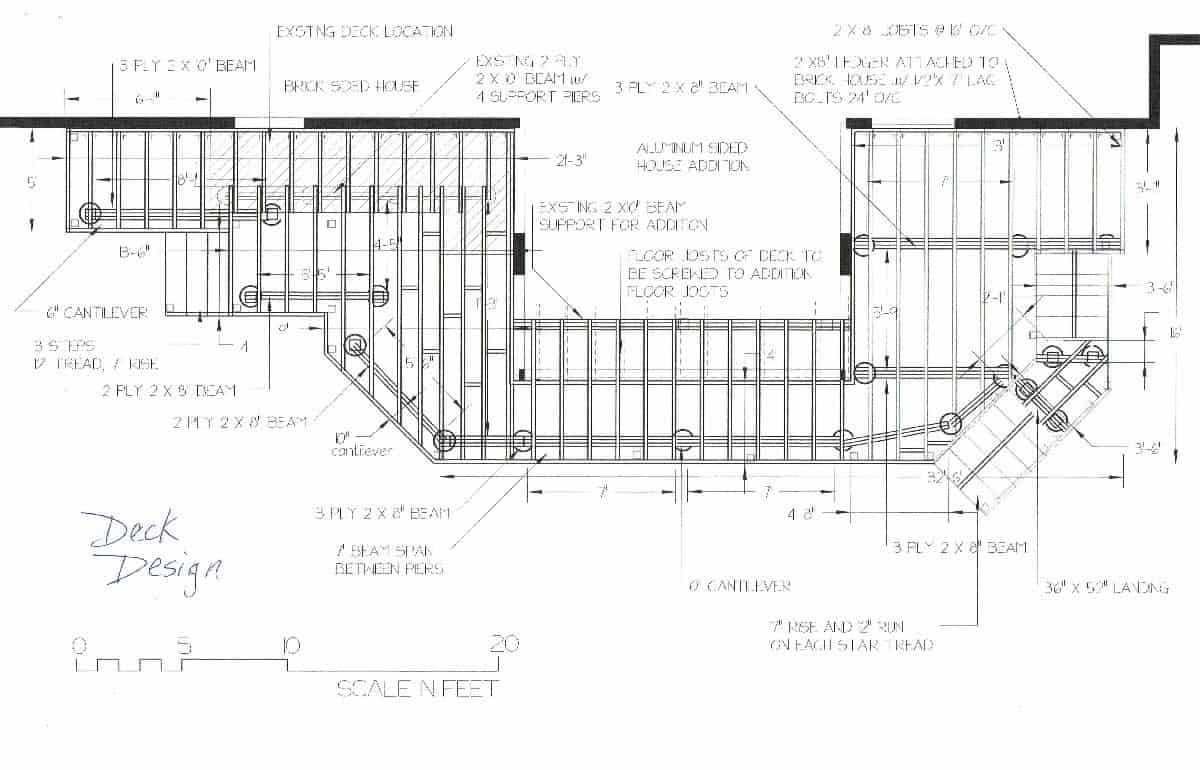 Deck design plans for Free online deck design